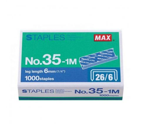 MAX   35  1MM STAPLES 26/6