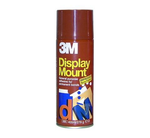3M Display Mount Spray Adhesive Each 400ml