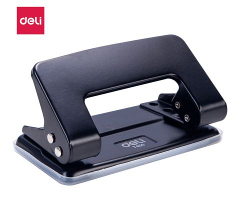 ET40020-DELI TWO HOLE PUNCH (8  SHEETS)