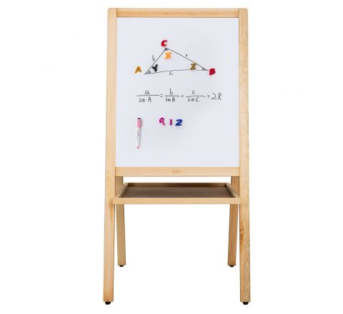 DELI E7894 WHITE BOARD WITH STAND 1080x520X40MM