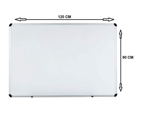 WB9012 MAGNETIC WHITE BOARD 90X120CM