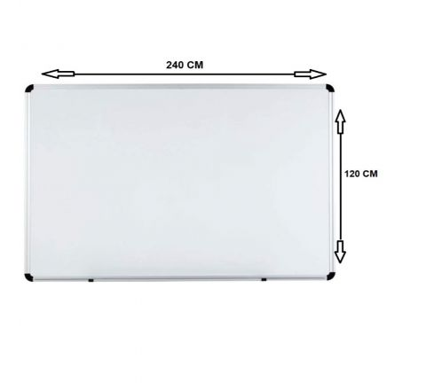 WB1224 MAGNETIC WHITE BOARD 120X240CM