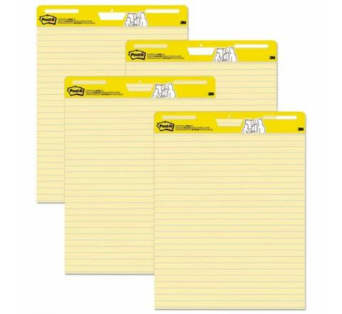 3M  561 YELLOW RULED EASEL PAD 25X30