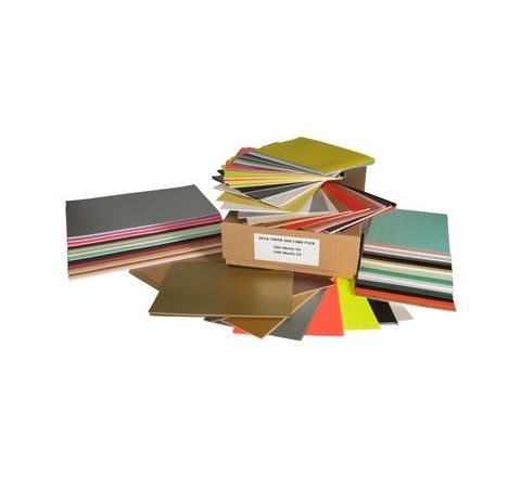 Assorted Paper & Card Pack Pack 500 Sheets