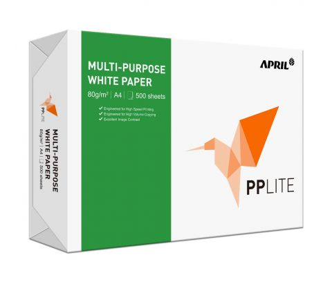 PPLITE PHOTO COPY Paper WHITE A4 80gsm
