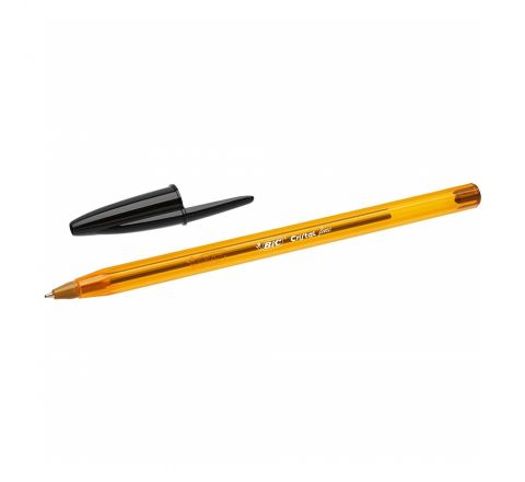 BIC CRISTAL ORIGINAL FINE BALL PEN FINE POINT (0.8MM) - BLACK COLOUR