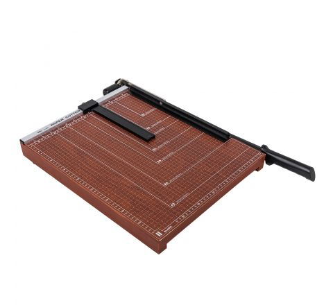DELI E8002 A3 PAPER CUTTER WITH BASE UPTO 12 SHEETS