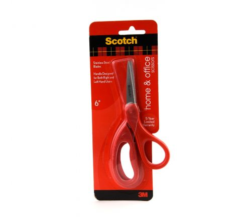 3M  1406 SCOTCH HOUSEHOLD SCISSORS 6 INCH