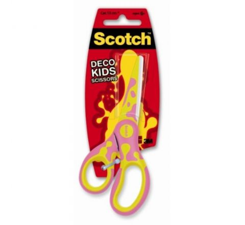 3M  1641 SCOTCH KIDS DECO  SCISSORS 13CM