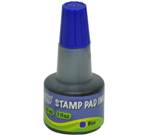 STAMP PAD INK - BLUE 28 ML