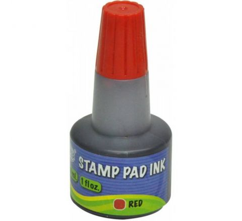 STAMP PAD INK - RED 28 ML