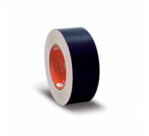 ATLAS  CLOTH TAPE 2 INCH WIDTH X 25 METER LENGTH, BLACK COLOUR