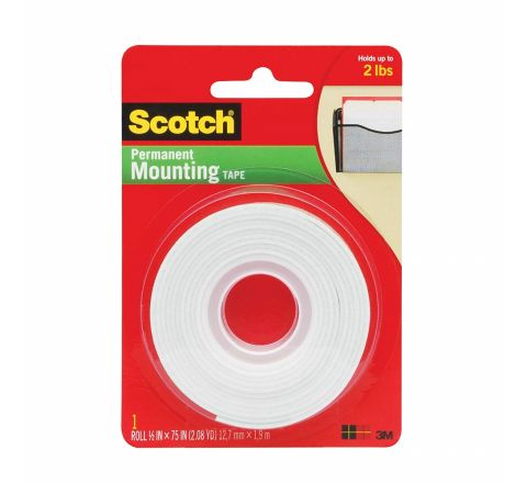 3M  110 SCOTCH MOUNTING TAPE H/D 1/2X75