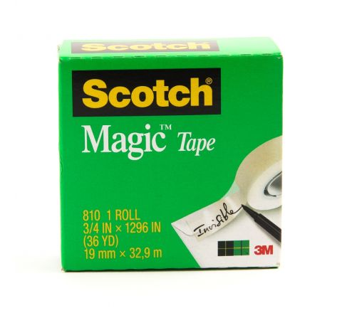 3M  810 SCOTCH MAGIC TAPE 3/4 X36YARDS