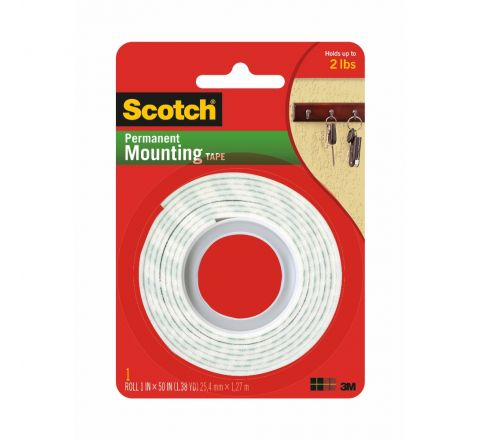 3M  114 SCOTCH MOUNTING ROLL HEAVY DUTY