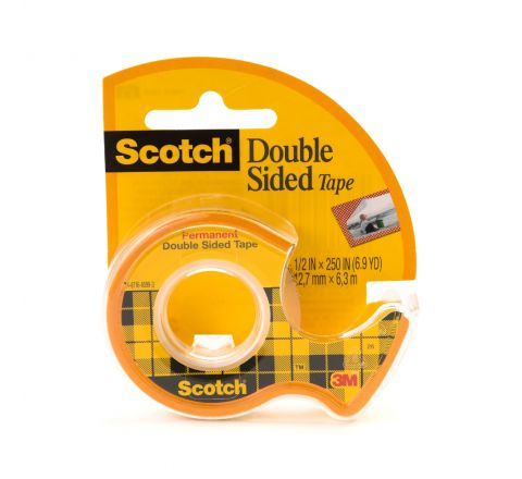 3M 136 SCOTCH DBLE SIDED TAPE WITH DISPENSER