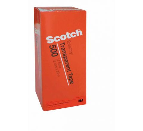 3M  500-1236C SCOTCH UTILITY TAPE 1/2 IN X 36 YARDS