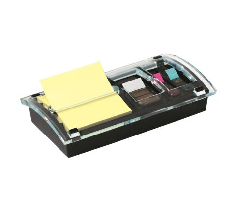 """3M POST-IT DS-100 POP-UP NOTE AND FLAG DISPENSER DESIGNER SERIES FOR 3""""X 3"""" NOTES"""