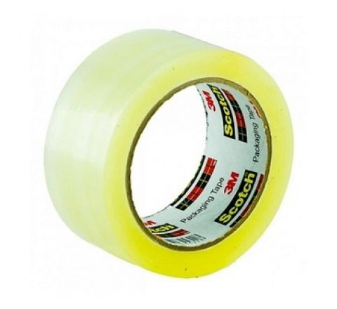 "3M  301-C PACKAGING TAPE CLEAR 2"" X100 YARDS"