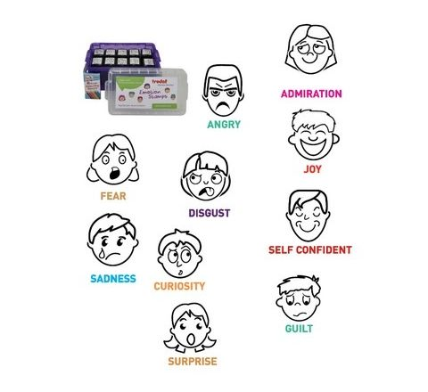 Emotion Stamps Set 10