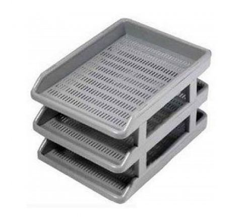 OMEGA  1739/S OMEGA DELUXE OFFICE TRAY GREY COLOUR