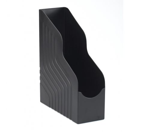 AVERY 444BLK MAGAZINE RACK FILE JUMBO W100XD253XH323MM, BLACK COLOR