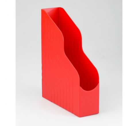 AVERY 444RED MAGAZINE RACK FILE JUMBO W100XD253XH323MM, RED COLOR
