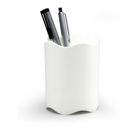 1701235010- DURABLE PEN HOLDER-WHITE