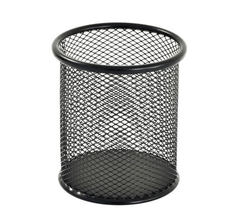 PEN HOLDER MESH METAL BLACK COLOUR