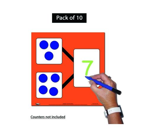 Number Bonds Cards 2 Parts Whole Pack 10