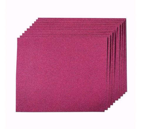 Aluminium Oxide Hand Sheets Pack of 10 (120 Grit) [4729]