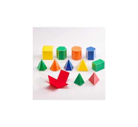 Folding Geometric Solids 2D/3D