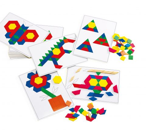 Basic Pattern Block Cards