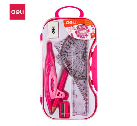 EG30204-DELI MATHINSTRUMENTSET WITHPENCIL