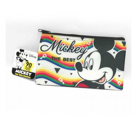 PENCIL POUCH-MICKY THE BEST-BLACK &WHITE