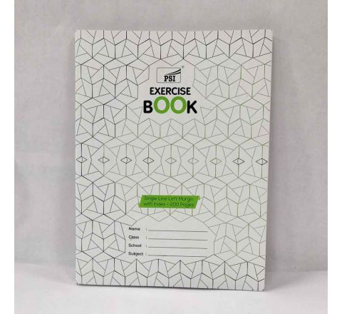 SINGLE LINE EXERCISE BOOK, A5 SIZE, 200 PAGE