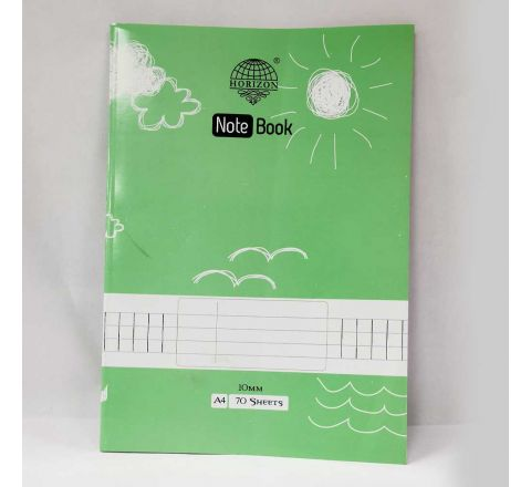 10MM SQUARE EXERCISE BOOK, A4 SIZE, 140 PAGE