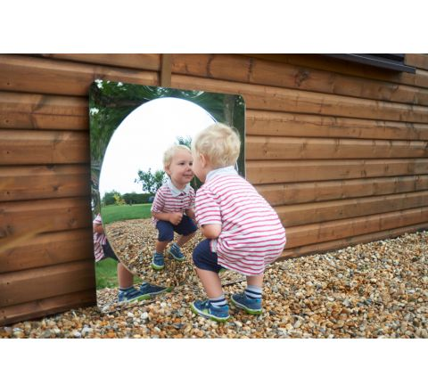 Acrylic Mirror Panel - Giant Single Dome