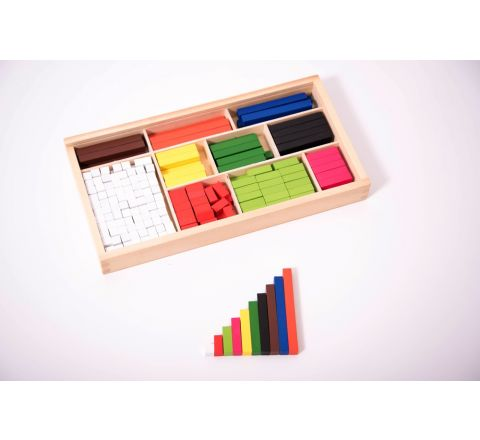 Cuisenaire Wooden Rods