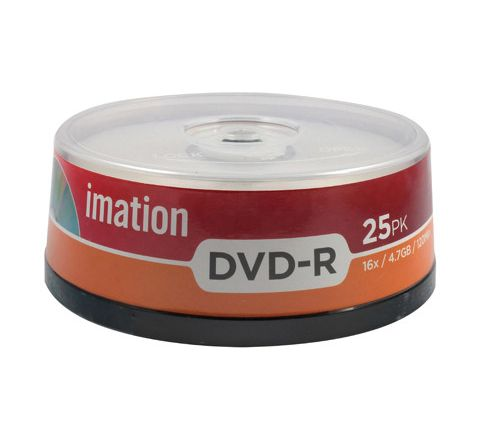 DVD-R Spindle Pack 25