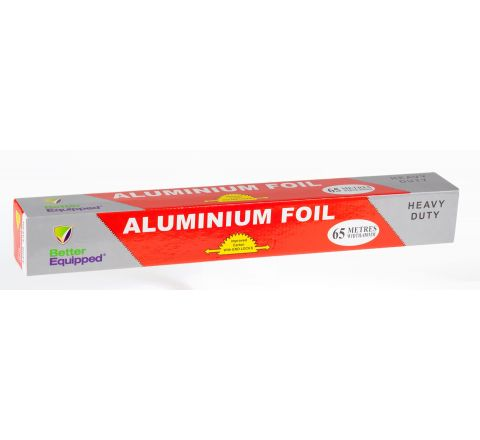 "Aluminium Foil Roll 45cm x 65M ""Better Equipped"" [780601]"