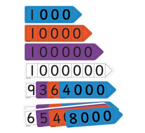 Place Value Arrows For Pupils Pack 6