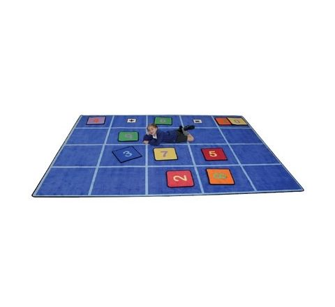 Grid Seating Rug