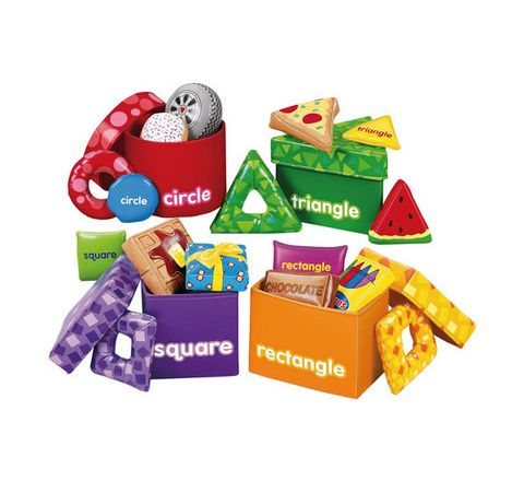 Shape Discovery Boxes Pack 4