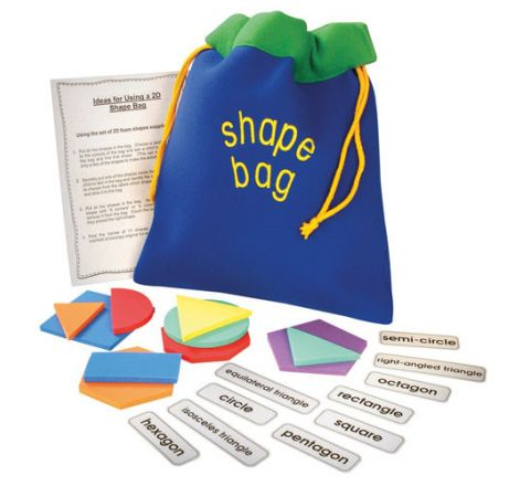 2D Shape Bag Set