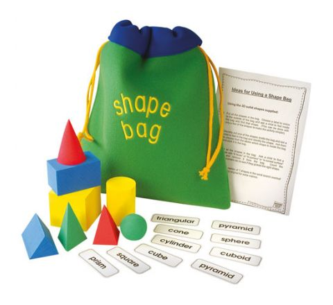 3D Shape Bag Set