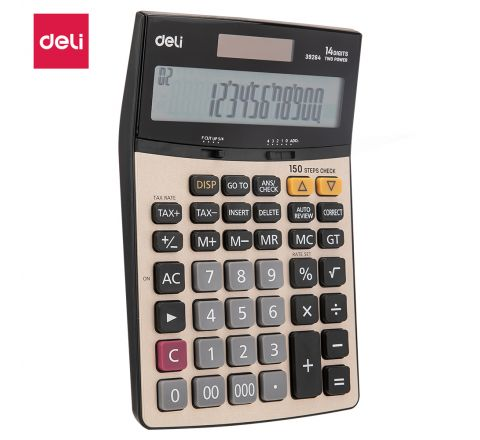 E39264-DELI CALCULATOR 14 DIGI T 150STEPS