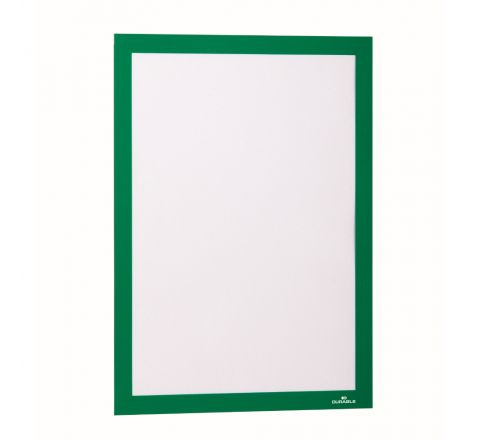 DURABLE 4872-05 DURAFRAME MAGNETIC, A4 SIZE, GREEN COLOUR