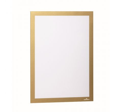 DURABLE 4872-30 DURAFRAME MAGNETIC, A4 SIZE, GOLD COLOUR