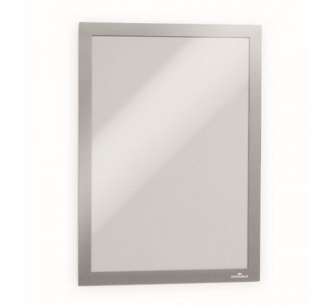 DURABLE 4872-23 DURAFRAME MAGNETIC, A4 SIZE, SILVER COLOUR